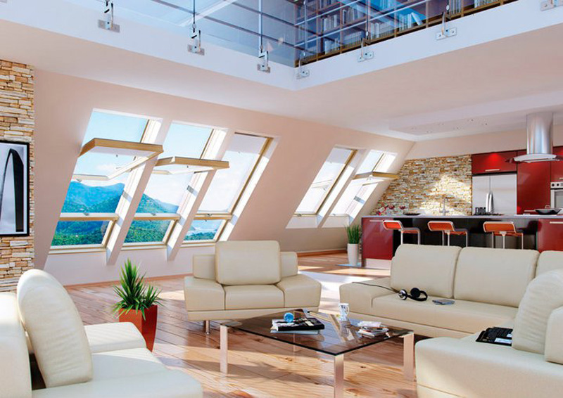 Roof Windows Products & Roof Windows | The Attic Room Design